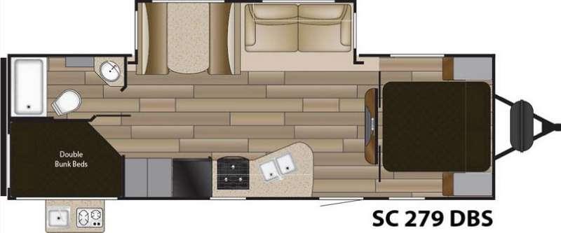 Floorplan - 2016 Cruiser Shadow S-279DBS