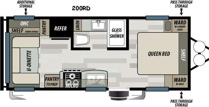 EVO ATS 200RD Floorplan Image