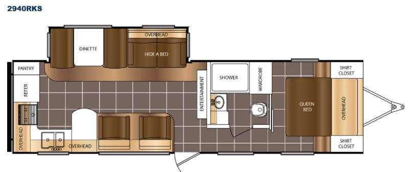 Tracer 2940RKS Floorplan Image