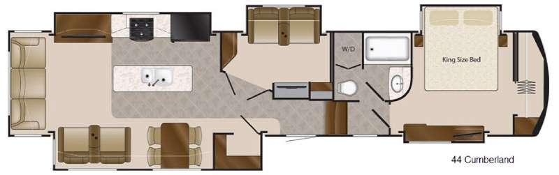 Floorplan - 2016 DRV Luxury Suites Elite Suites 43 Cumberland