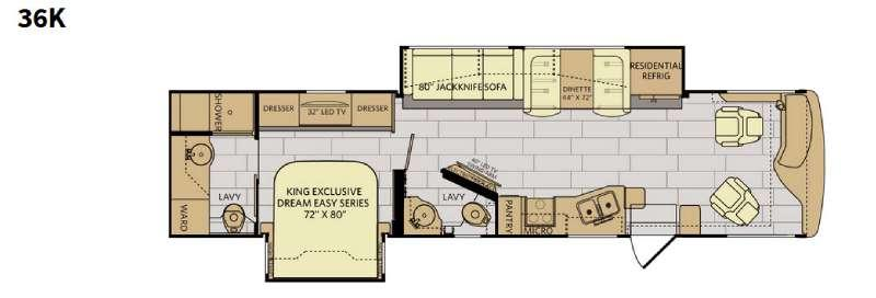 Excursion 36K Floorplan Image