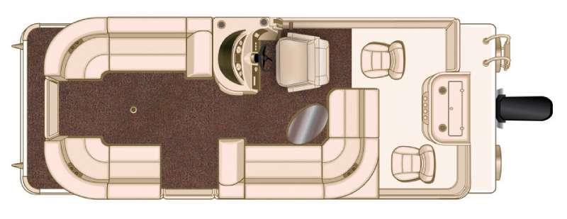 Floorplan - 2016 Sun Chaser Classic Fish 8522 Cruise N Fish EXP