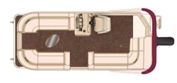 Floorplan - 2016 Sun Chaser Classic Cruise 8522 Cruise
