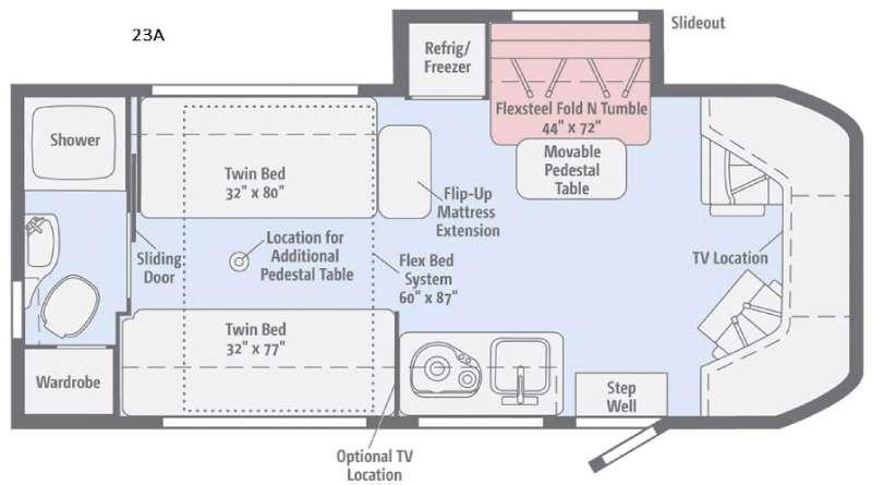 Fuse 23A Floorplan Image