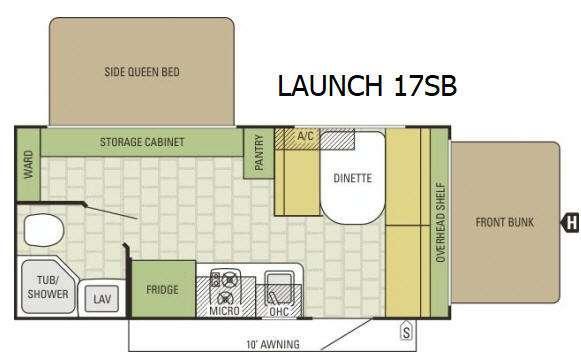 Launch 17SB Floorplan Image
