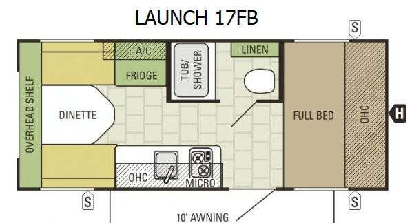 Launch 17FB Floorplan Image