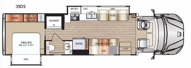 Floorplan - 2017 Dynamax DX3 35DS