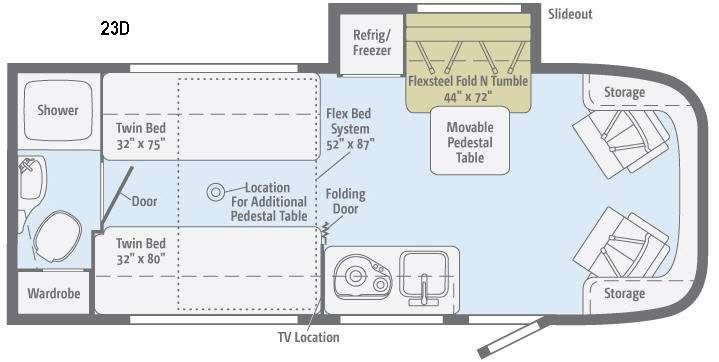 Trend 23D Floorplan Image