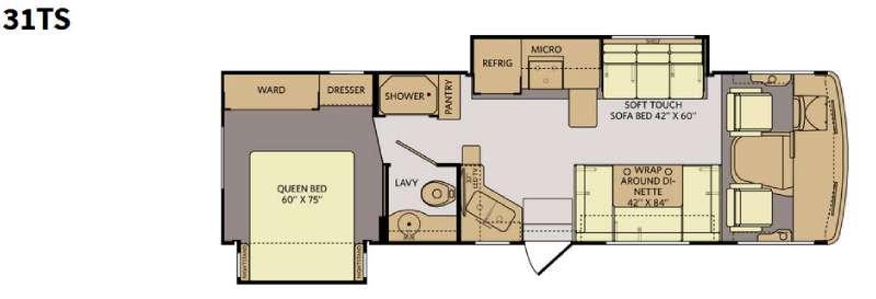 Terra 31TS Floorplan Image