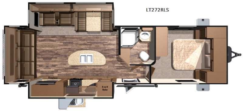 Open Range Light LT272RLS Floorplan Image