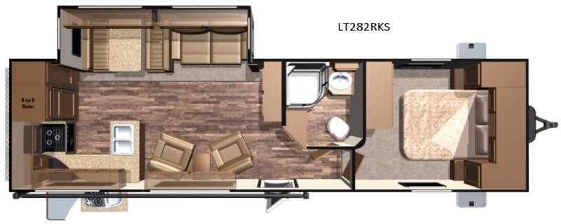 Open Range Light LT282RKS Floorplan Image