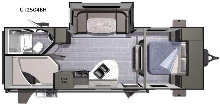 Open Range Ultra Lite UT2504BH Floorplan Image