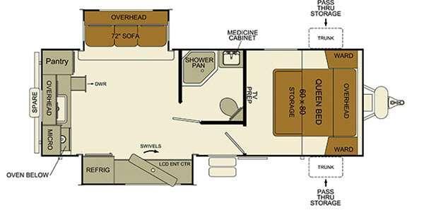 i-Go G245RKDS Floorplan Image