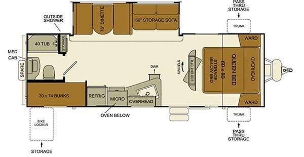 i-Go G260BH Floorplan Image