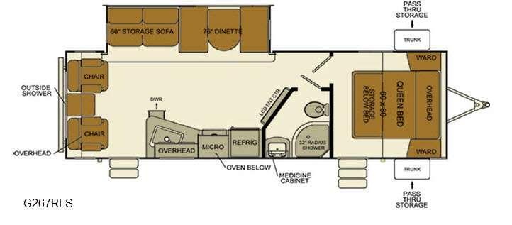 i-Go G267RLS Floorplan Image