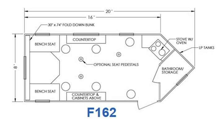 Glacier F162 Floorplan Image