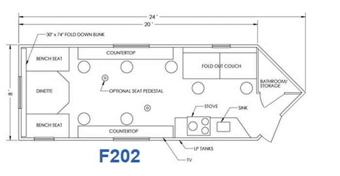 Glacier F202 Floorplan Image