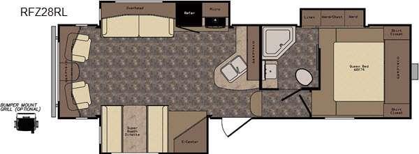 ReZerve RFZ28RL Floorplan Image