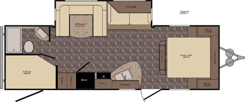 ReZerve RTZ26DT Floorplan Image