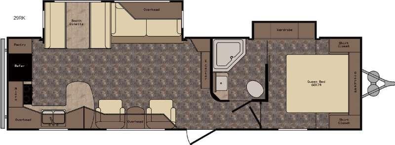 ReZerve RTZ29RK Floorplan Image