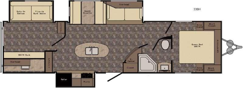 ReZerve RTZ33BH Floorplan Image