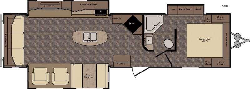ReZerve RTZ33RL Floorplan Image