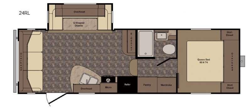 Longhorn ReZerve LFZ24RL Floorplan Image
