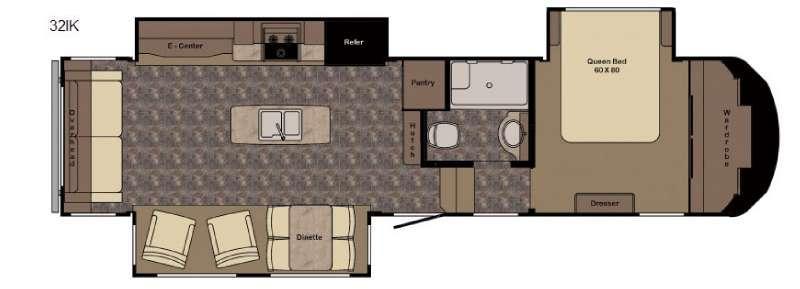Longhorn ReZerve LFZ32IK Floorplan Image