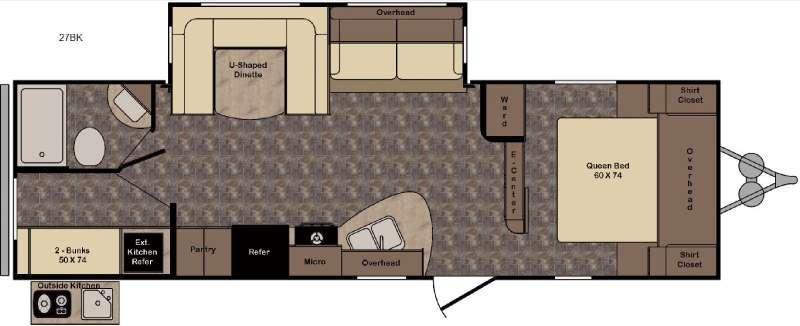 Longhorn ReZerve LTZ27BK Floorplan Image