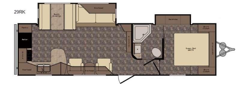Longhorn ReZerve LTZ29RK Floorplan Image