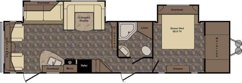 Longhorn ReZerve LTZ34RL Floorplan Image