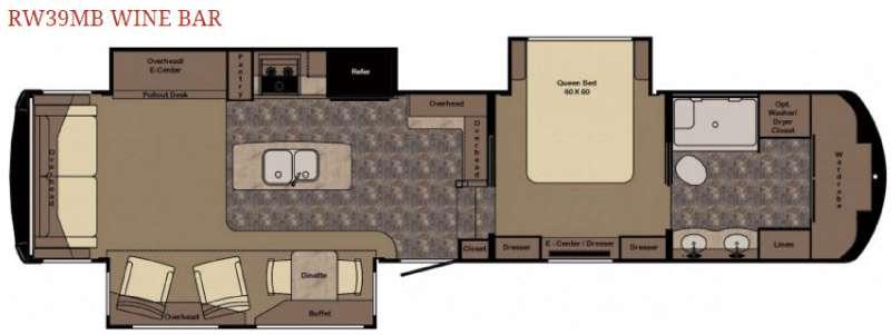 Redwood 39MB Wine Bar Floorplan Image