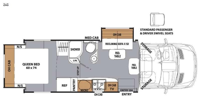 Prism 24G Floorplan Image