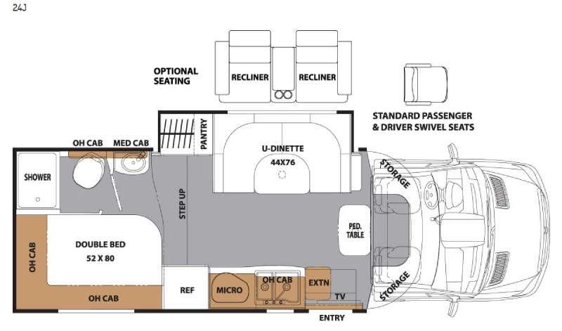 Prism 24J Floorplan Image
