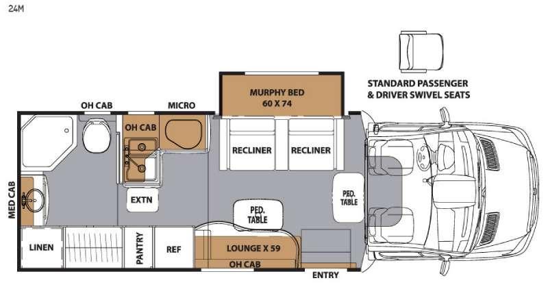 Prism 24M Floorplan Image