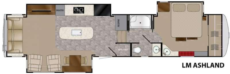 Landmark 365 Ashland Floorplan Image