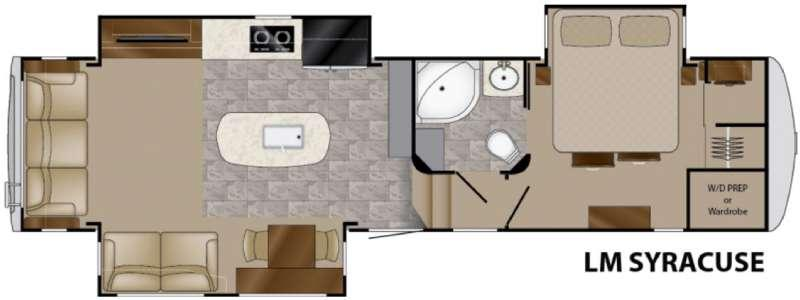 Landmark 365 Syracuse Floorplan Image