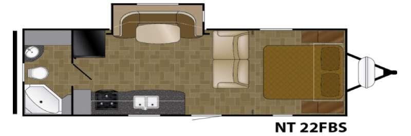 North Trail 22FBS Floorplan Image