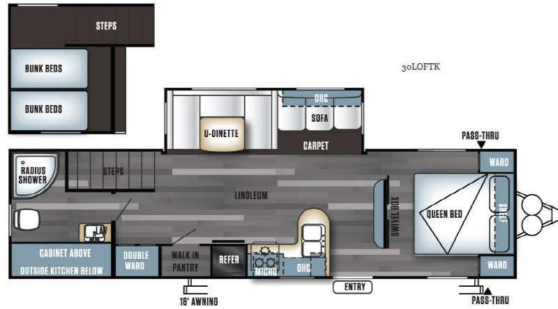 Salem 30LOFTK Floorplan Image