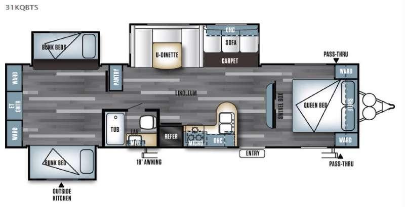 Salem 31KQBTS Floorplan Image