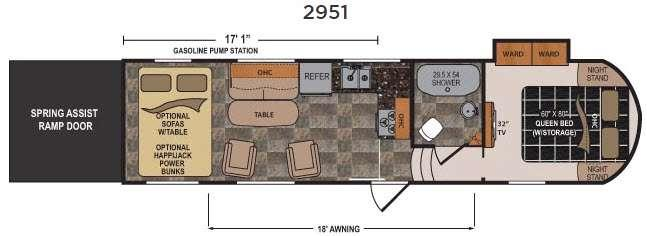 Triton 2951 Floorplan Image