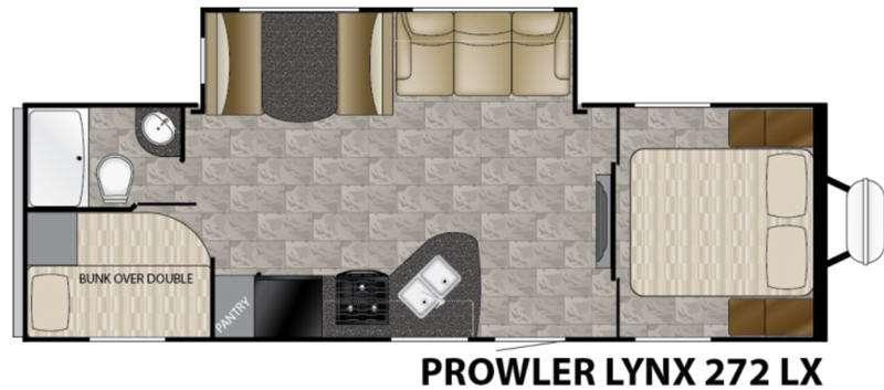 Floorplan - 2017 Heartland Prowler Lynx 272 LX