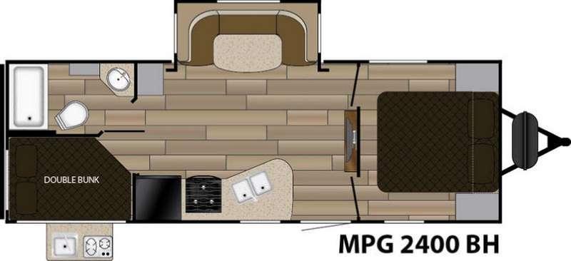 MPG 2400BH Floorplan Image