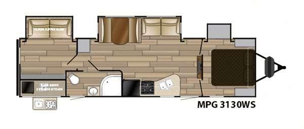 MPG 3130WS Floorplan Image
