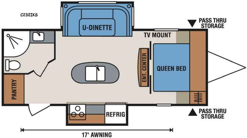 Spree Connect C232IKS Floorplan Image