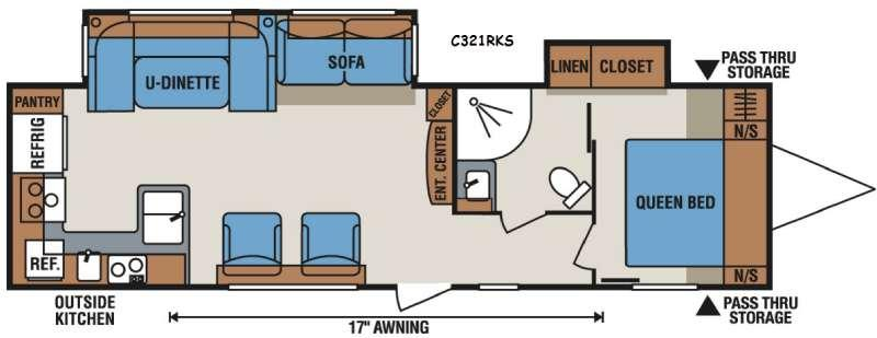 Spree Connect C321RKS Floorplan Image