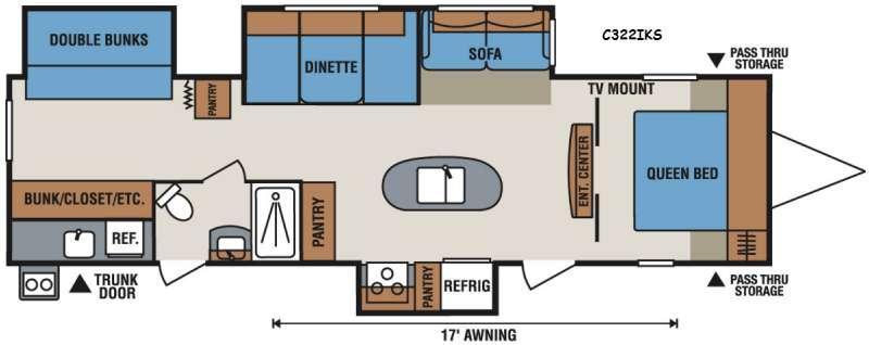Spree Connect C322IKS Floorplan Image