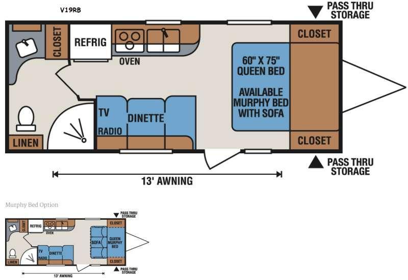 Vision V19RB Floorplan Image