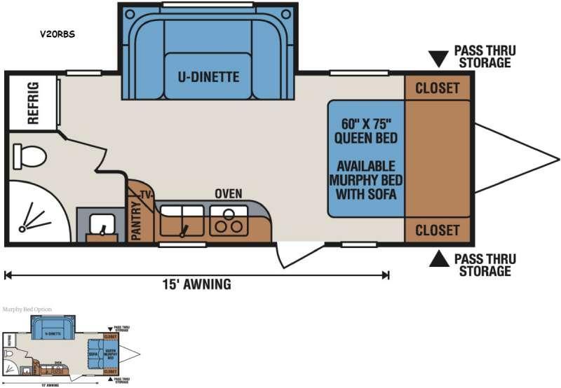 Vision V20RBS Floorplan Image