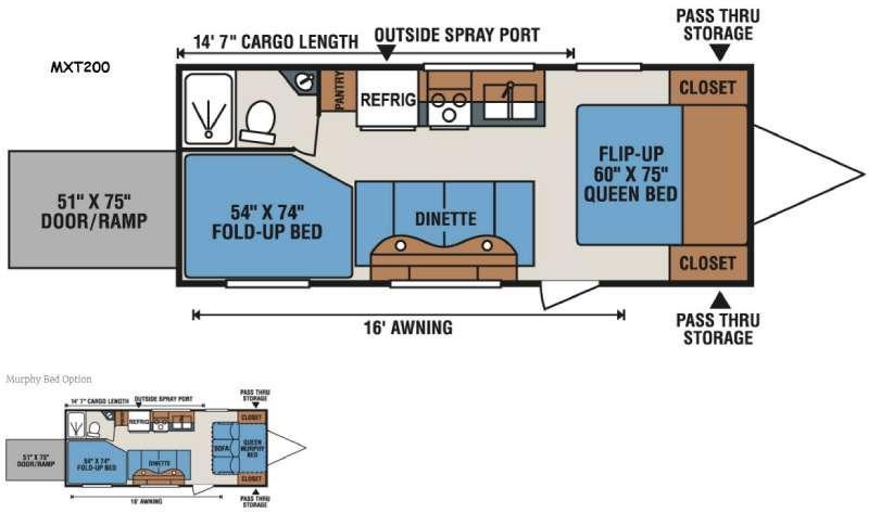 MXT MXT200 Floorplan Image